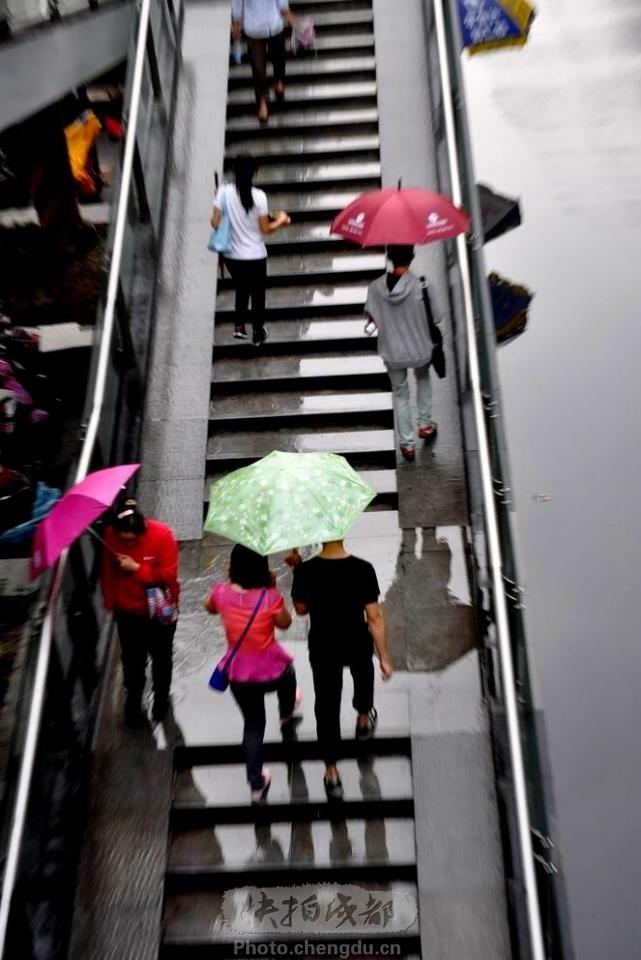 雨景 by 拍客阿新 快拍作品 成都图片网photo