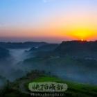 骑龙坳的日出