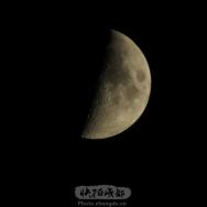 半个月亮爬上来