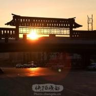 红牌楼看日出...