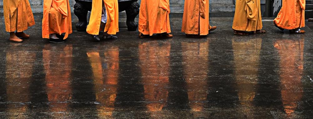 雨中漫步应天寺