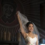 老茶馆里的婚...