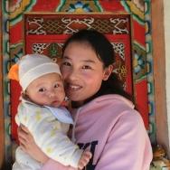 女人和孩子